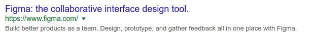 Outdated Google SERP preview