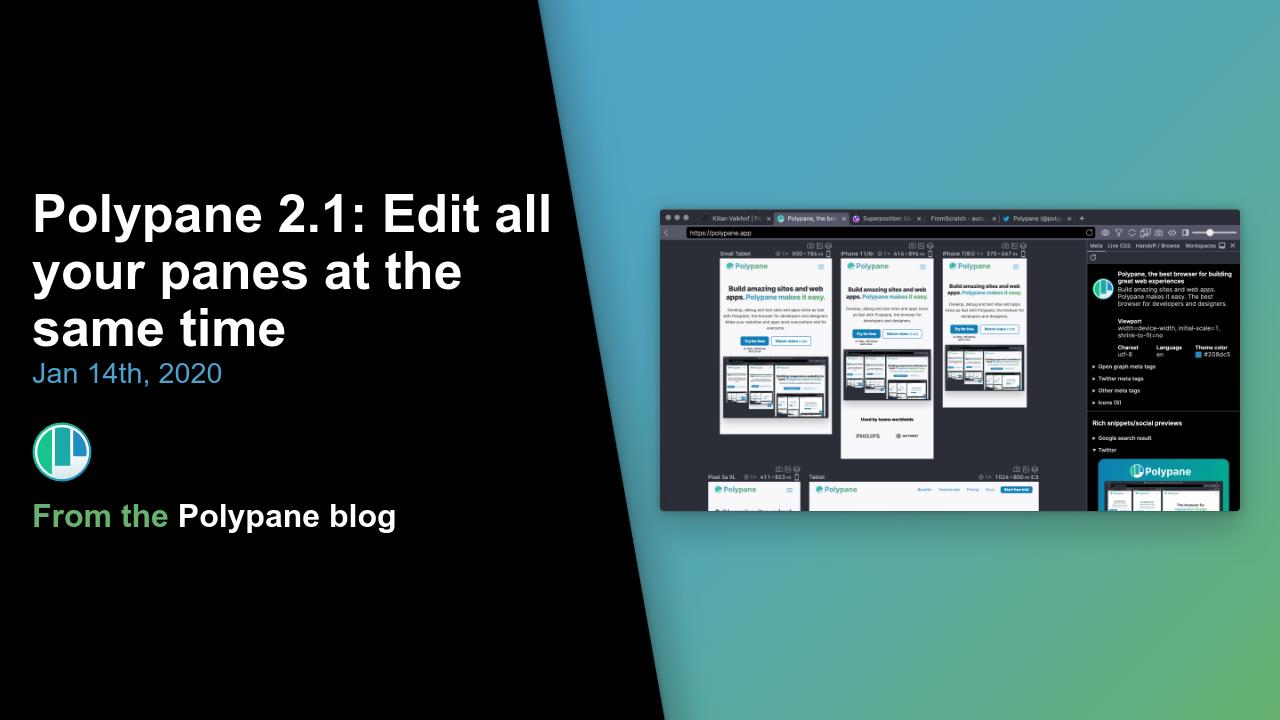 Polypane adds live CSS editing to its development browser - RapidAPI